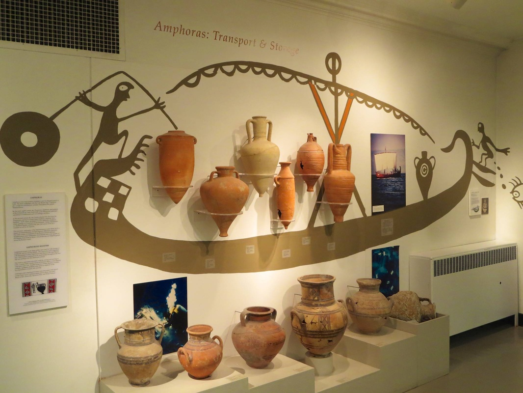 Amphoras: Transport & Storage, Harvard Semitic Museum