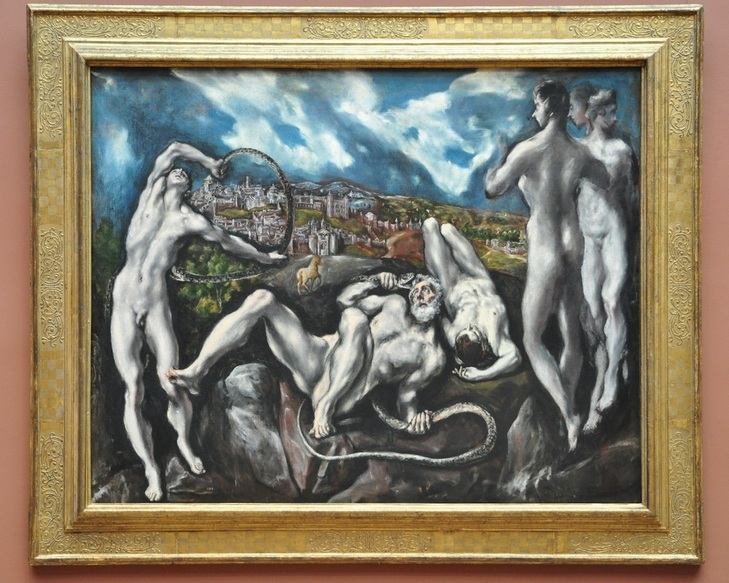 El Greco, Laocoon; National Gallery, Washington DC.