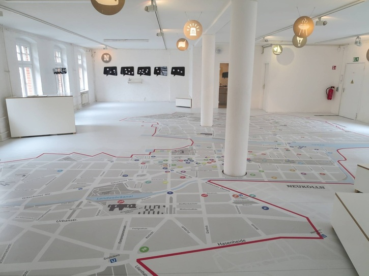 A Walk through the Virtual City, Friedrichshain-Kreuzberg Museum, Berlin