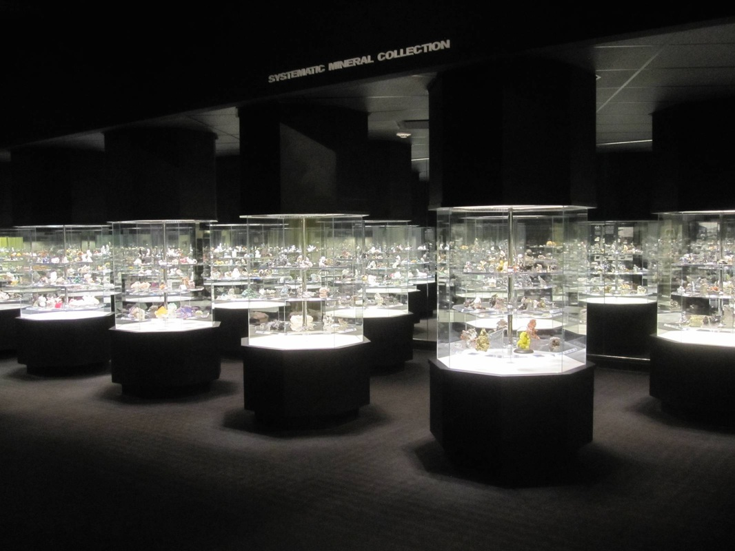 Minerals and gems, Carnegie Museum of Natural History, Pittsburgh, Pennsylvania